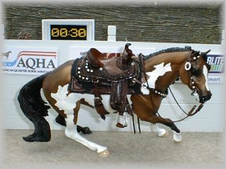 Custom Western Model Horse Tack